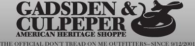 Gadsden and Culpeper coupon codes
