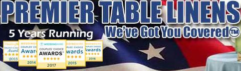 Premier Table Linens coupon codes