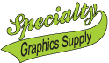 Specialty Graphics Supply coupon codes