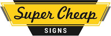 Super Cheap Signs coupon codes